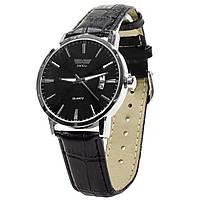☇Мужские часы SWIDU SWI-001 Black с нержавеющей стали влагозащищенные 3АТМ механические кварцевый механизм