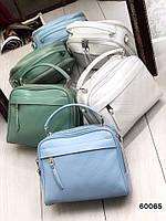 Сумка, клатч  натуральная кожа ss258473  цвета в ассортименте бежевый,серебро,пудра,черный,синий,серый, фото 1