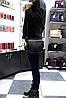 Небольшая стильная сумочка из натуральной кожи 3336-65 black, фото 5