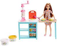 Игровой набор Сестра Барби Сделайте вместе завтрак Стейси Barbie Sisters Stacie Doll and Breakfast