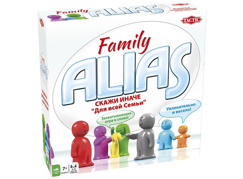 Алиас. Скажи иначе. Семейный (Alias Family) настольная игра