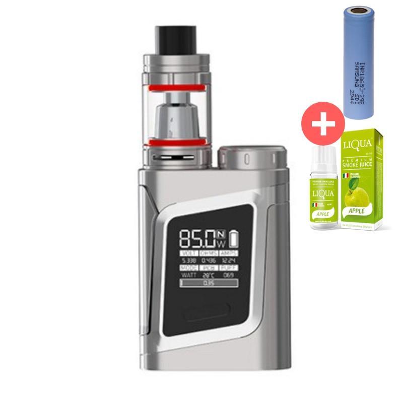 Электронная сигарета SMOK Alien Kit 85W Quality Replica. Вейп. Серебро. Silver