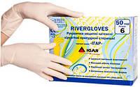 Рукавички латексні стерильні непудровані 6.0 RIVERGLOVES