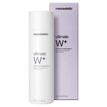 Mesoestetic - Ultimate W+ - Whitening toning lotion / Осветляющий тонизирующий лосьон