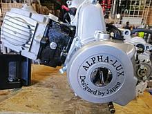Двигун Delta 110 кубів з механічною коробкою передач