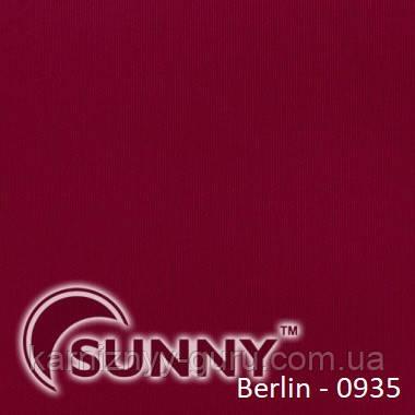 Рулонные шторы для окон в открытой системе Sunny, ткань Berlin - 4
