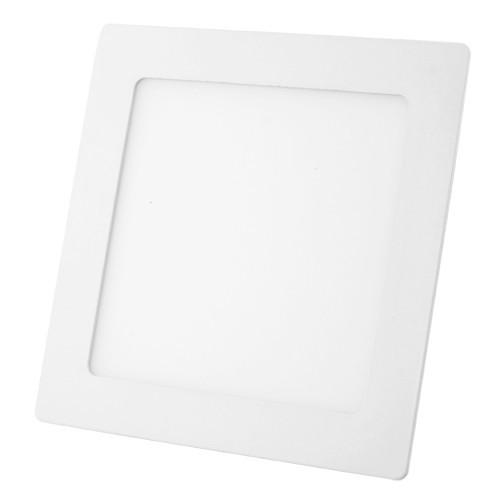 Точечный LED-светильник PL 12W 167х167x17мм, квадрат, алюминий - 40