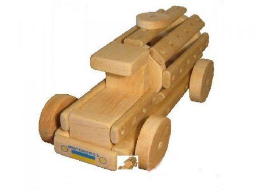 Эко-конструктор «Молоковоз» деревянный 172009