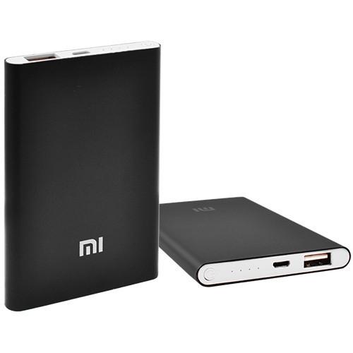 Power Bank MI Slim 5000mAh USB(2A), інд. зар. -100 (2500mAh)
