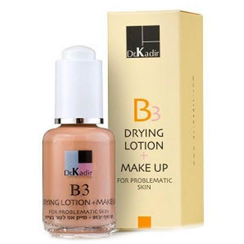 Тонуюча подсушивающая емульсія для проблемної шкіри Dr. Kadir B3 Drying Lotion and Make Up 30мл 30
