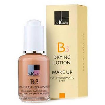 Тонирующая подсушивающая эмульсия для проблемной кожи Dr. Kadir B3 Drying Lotion and Make Up 30мл  30