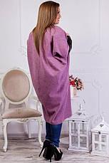Пальто женское демисезонное больших размеров, фото 3