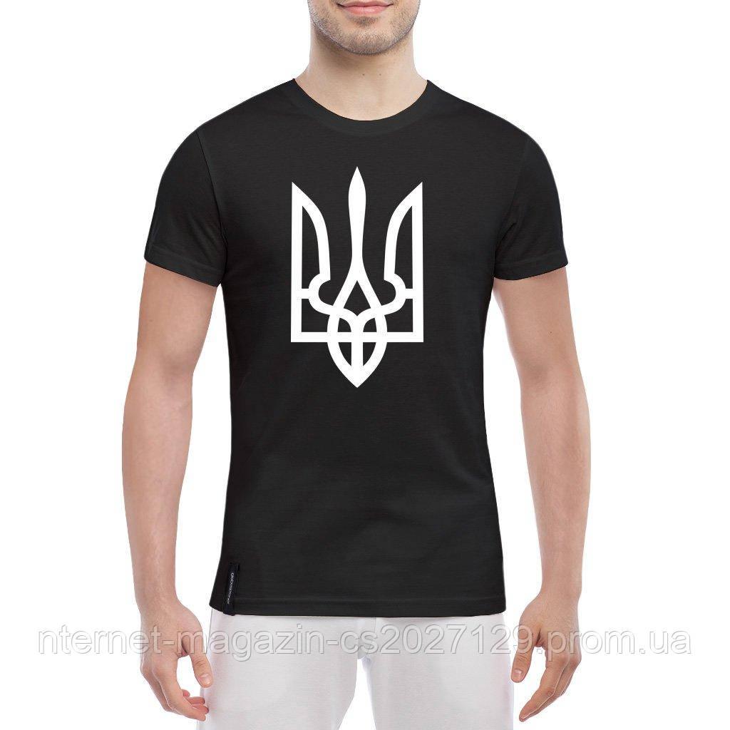 Мужская футболка с гербом Украины