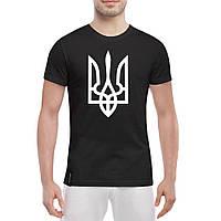 Мужская футболка с гербом Украины , фото 1