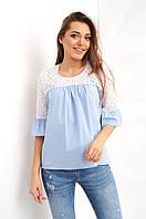 Рубашка Анила голубая размер S