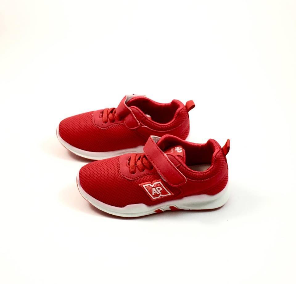 Красные кроссовки универсального цвета Apawwa Смарт (р.26,27,28)
