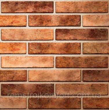 Плитка клинкерная Brickstyle Westminster оранжевый 250х60