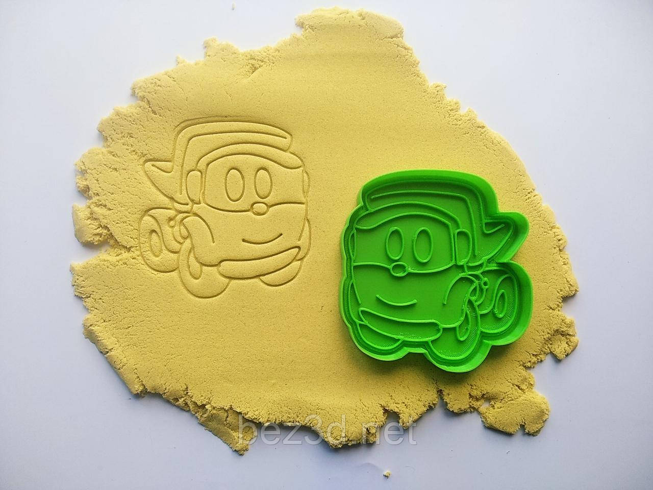 "3D формочки-вырубки для пряников ""Грузовичок Лёва 1"""