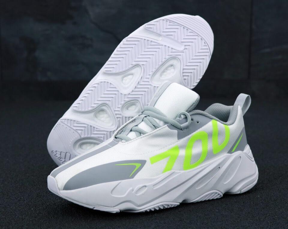 Мужские кроссовки Adidas Yeezy Boost 700 Grey Yellow