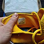 Мужские кроссовки Adidas NMD Pharrell Williams x  'Human Race' Yellow. B Живое фото (Реплика ААА+), фото 5