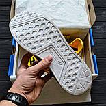 Мужские кроссовки Adidas NMD Pharrell Williams x  'Human Race' Yellow. B Живое фото (Реплика ААА+), фото 7