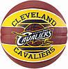 Баскетбольний м'яч для стрітболу Spalding NBA Team Cleveland Cavaliers р. 7 (30 01587 01 3717)