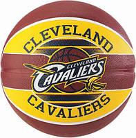 Баскетбольний м'яч для стрітболу Spalding NBA Team Cleveland Cavaliers р. 7 (30 01587 01 3717), фото 1