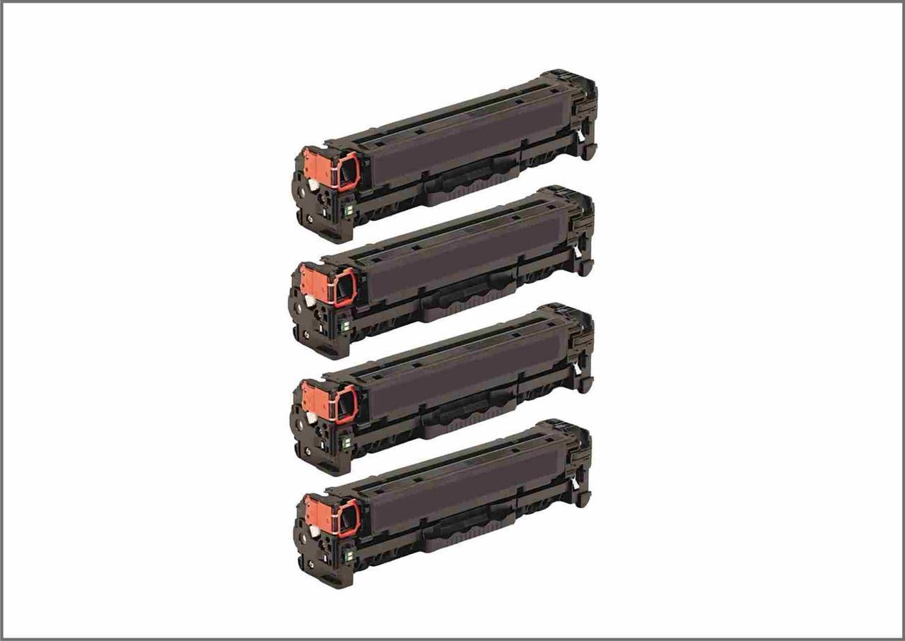 Комплект картриджей HP530CMYK для HP CLJ CM2320nf/2320fxi/CP2025dn/CP2025n  Черный, Голубой, Пурпурный, Желтый