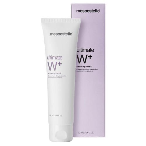 Mesoestetic - Ultimate W+ - Whitening foam / Осветляющая пенка для умывания