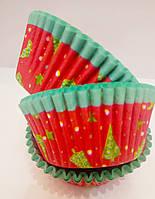 Форма бумажная для кексов капсула  500 шт., фото 1