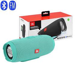 Bluetooth-колонки JBL CHARGE 3+, c функцією PowerBank, радіо, speakerphone (копія)