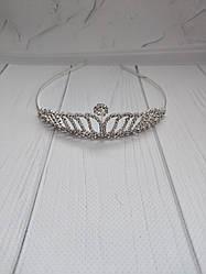 Диадема корона на металлическом обруче