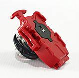 Іграшка-дзига БейБлейд Вибух BeyBlade Burst з ручкою Dark Deathscyther (Думсайзор) В42, фото 3