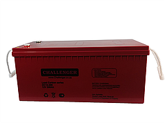 Свинцово-углеродный аккумулятор Challenger DC12-200 (12В 200Ач)
