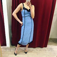 Женское платье Pinko синее Италия