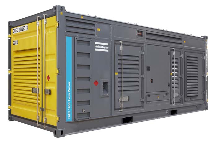 Генераторы  Atlas Copco Twin Power QAC 1450