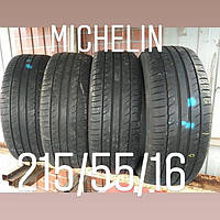 Летние шины б/у michelin primacy hp 215/55/16