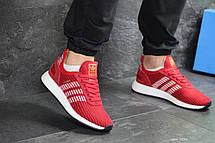 Мужские кроссовки Adidas Iniki,сетка,красные, фото 2