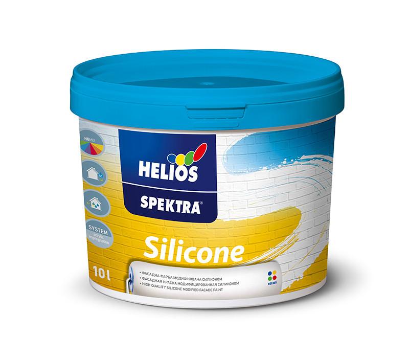 Фасадная краска силиконмодифицированная HELIOS SPEKTRA Silicone, 5л