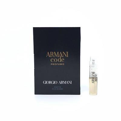 Оригинальный ПРОБНИК духи GIORGIO ARMANI Code Profumo Pour Homme 1,2ml, восхитительный восточный пряный аромат
