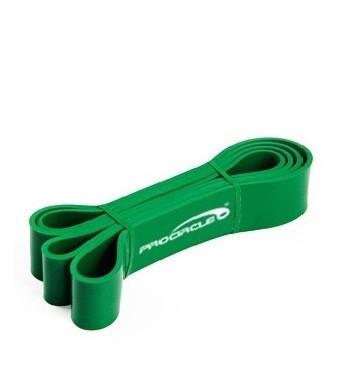 Резиновая петля  PROCIRCLE Зеленая  (25-57 кг) .Резина для подтягивания  + Сумочки для хранения. Эспандер.