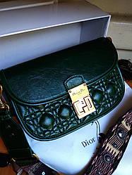 Женская кожаная сумка в стиле Dior