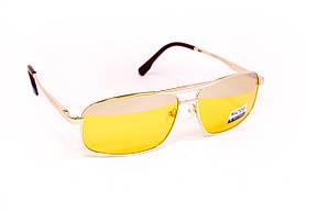 Желтые очки для водителей с футляром F8883-2, фото 3