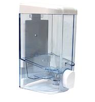 Дозатор рідкого мила пластик прозорий, фото 2