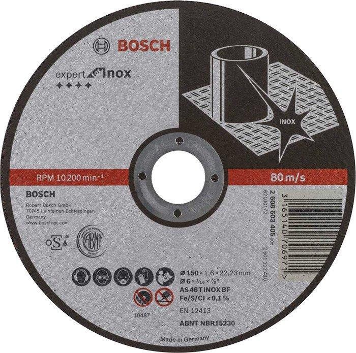 Круг отрезной Bosch Expert AS 46 T INOX BF 1501,6 мм (2608603405)