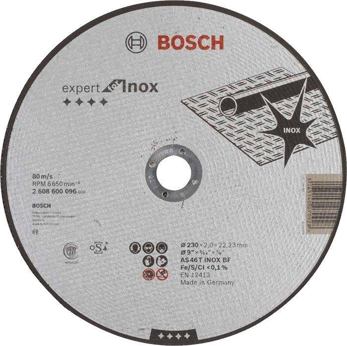 Круг отрезной Bosch Expert AS 46 T INOX BF 2302 мм (2608600096)