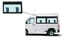 Боковое панорамное стекло короткая база Mercedes Sprinter 1995-2006 заднее левое