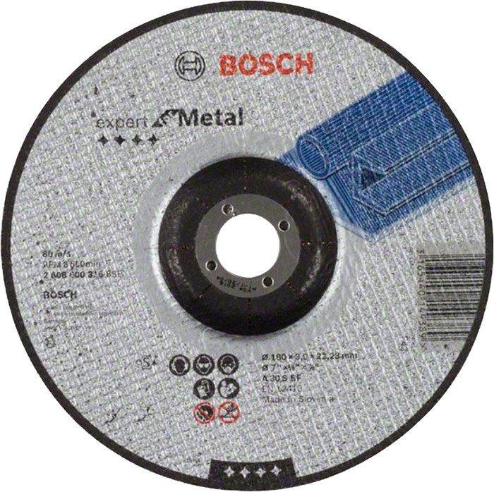 Круг отрезной Bosch Expert for Metal выпуклый 1803 мм (2608600316)