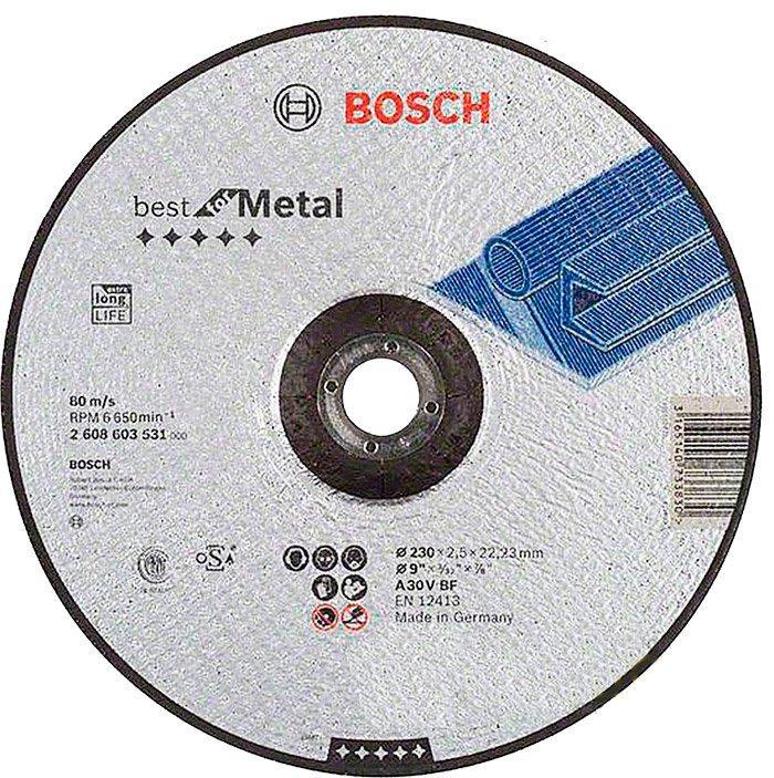 Круг отрезной Bosch Expert for Metal выпуклый 2302,5 мм (2608600225)