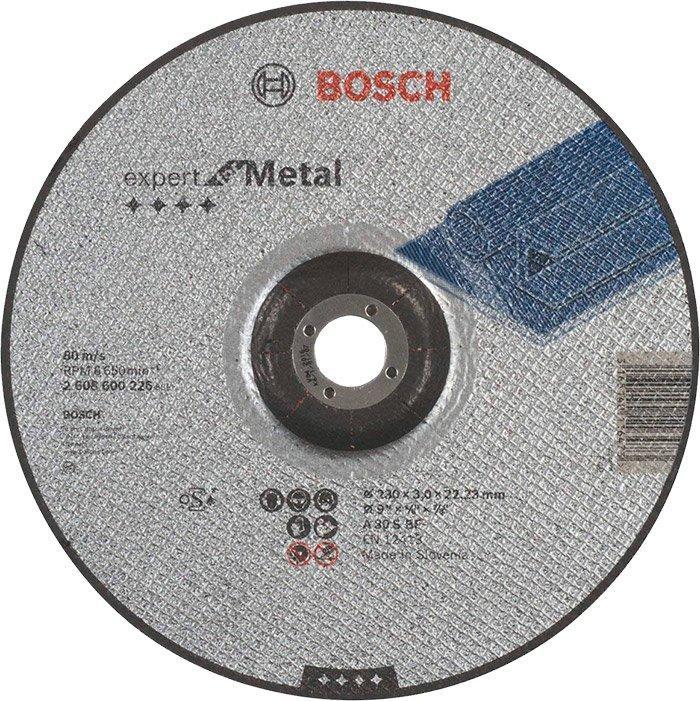 Круг отрезной Bosch Expert for Metal выпуклый 2303 мм (2608600226)